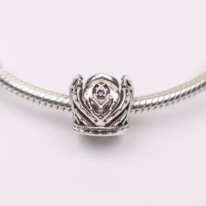 Authentic PANDORA Silver Anna's Crown Charm